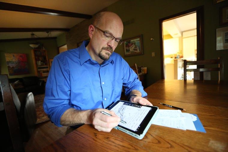 Cartoonist's work lighthearted, aims to provoke thinking on faith