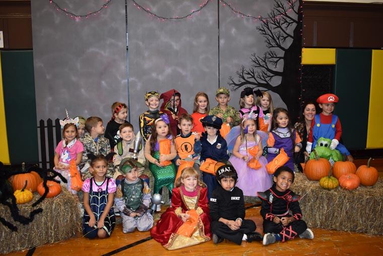 Halloween fun at Trinity