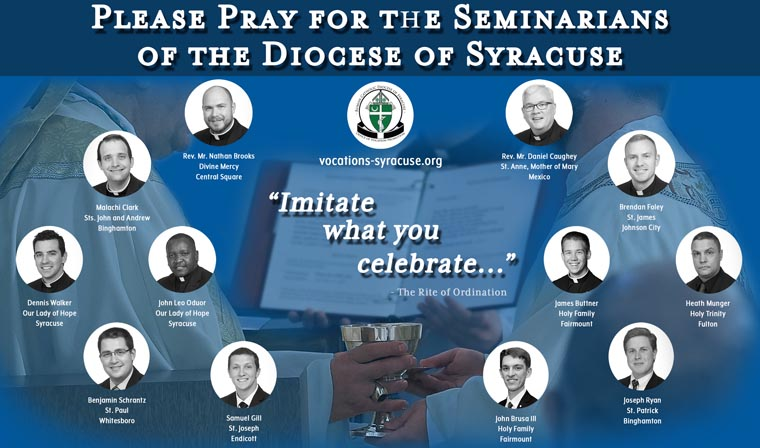 Meet the seminarians of the Diocese of Syracuse