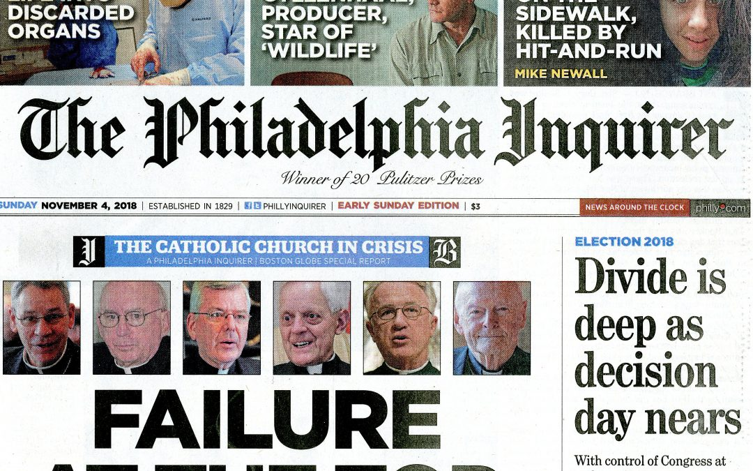 Newspapers examine U.S. bishops' responses to abuse allegations