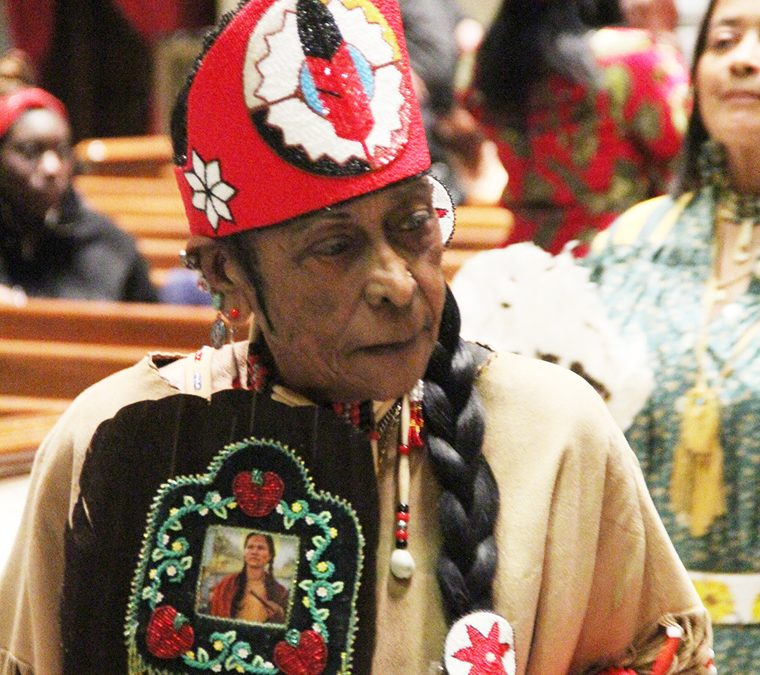 'Every day is Thanksgiving,' says Cherokee chief