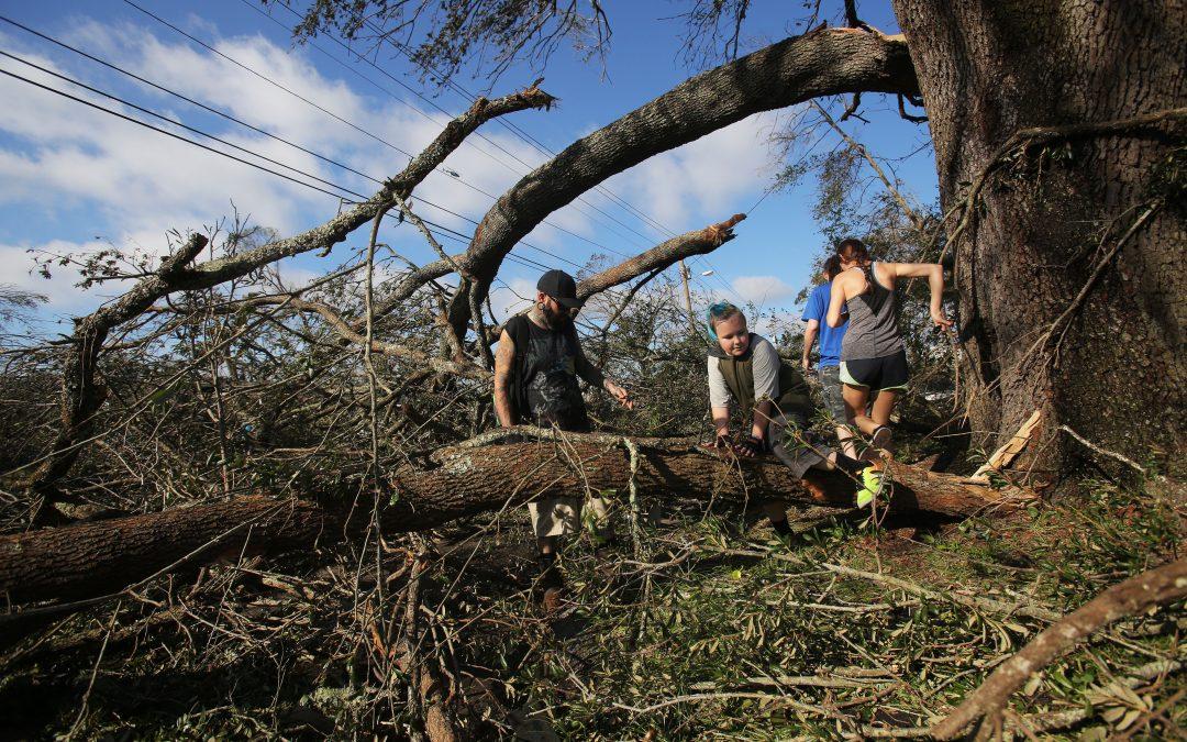 Before Thanksgiving, Miami parish makes pilgrimage to hurricane zone