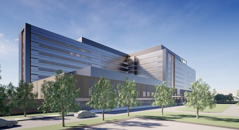 Mohawk Valley Health System shares exterior renderings for new regional integrated hospital