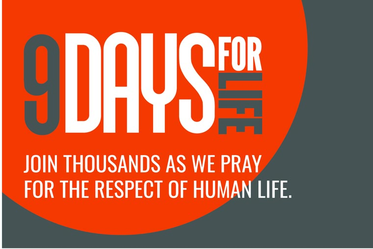 Annual '9 Days for Life' prayer, action campaign takes place Jan. 14-22