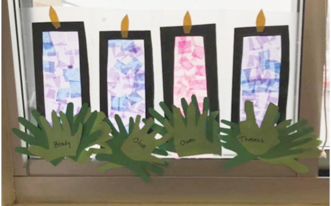 Holy Family kindergarten classroom prepares for Advent
