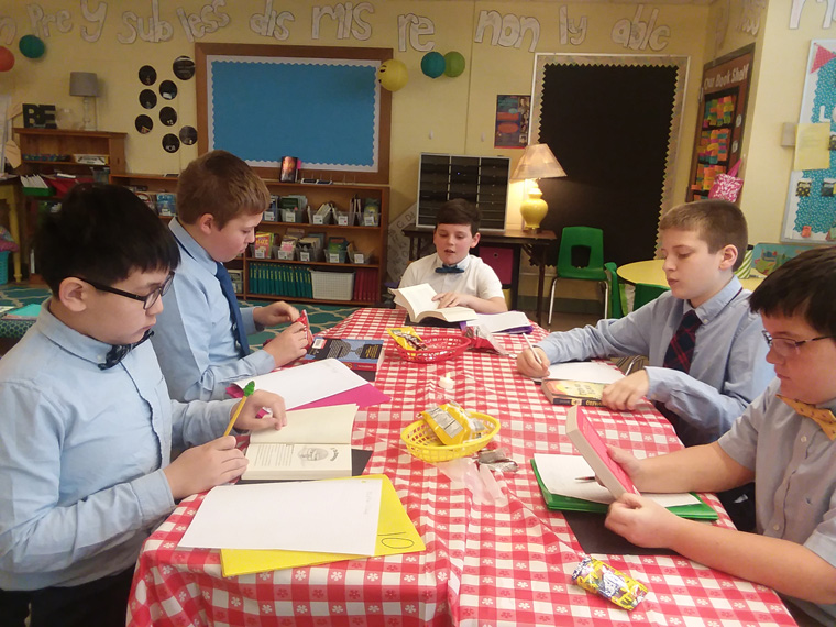 St. Margaret's students dive into history, books