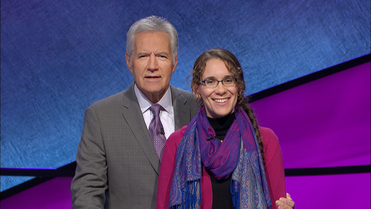 Liverpool lector lights up Jeopardy! TV stage