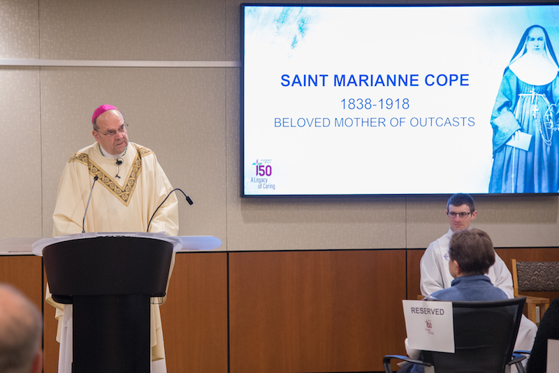 St. Marianne celebrated on feast day at hospital she helped found