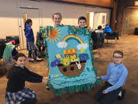IC kids with decorated blanket copy -