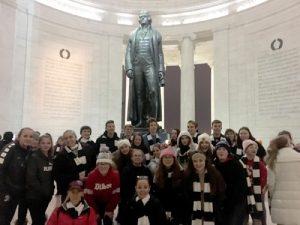Jefferson Memorial 300x225 - 'We became bigger people': Diocesan participants express their wonder over March for Life