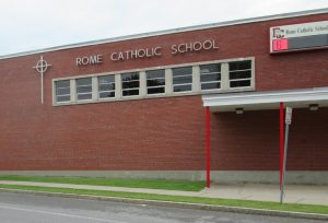 Rome Catholic School exterior 300x204 - Rome Catholic School exterior