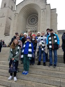 march for life 2019 3 225x300 - 'We became bigger people': Diocesan participants express their wonder over March for Life