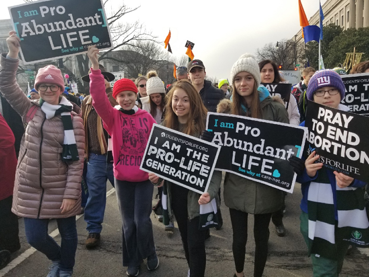 'We became bigger people': Diocesan participants express their wonder over March for Life