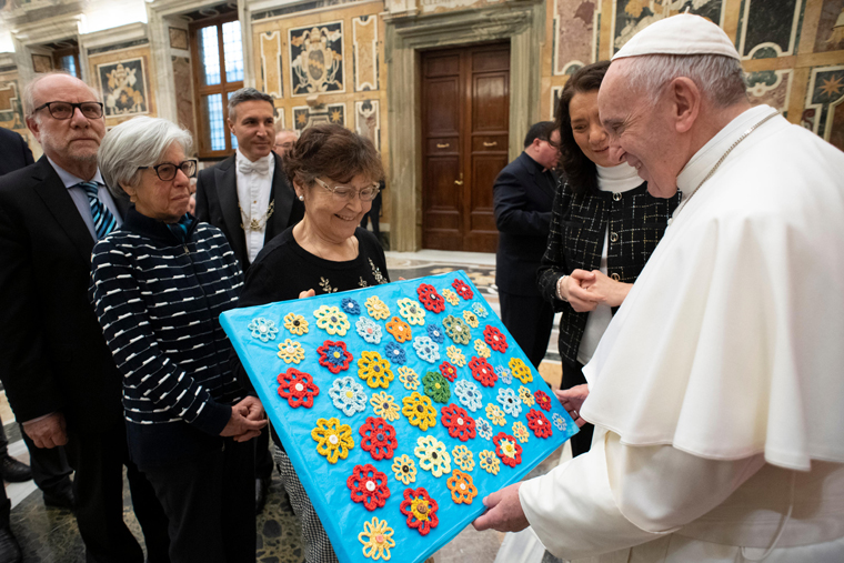 Pope to politicians: Defend the unborn as cornerstones of common good