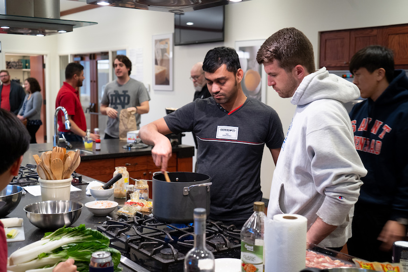 Creative cuisine lessons help whip up self-reliant seminarians