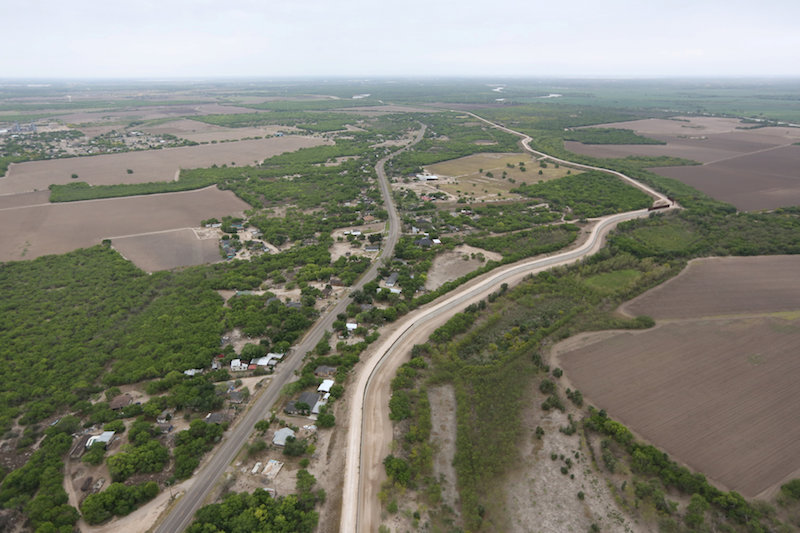 Judge allows survey of church property for border wall construction