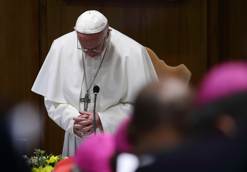 Vatican summit opens with acknowledgment of evil committed