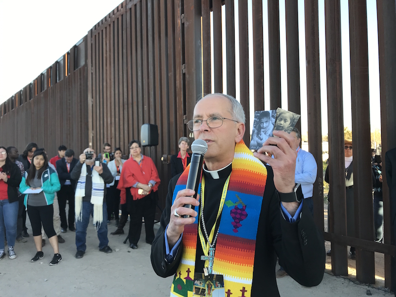'The desert speaks': Faith communities gather at U.S.-Mexico border