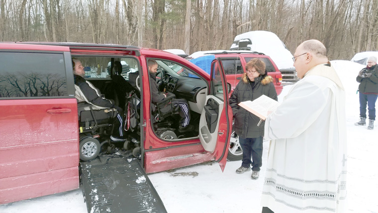 'Truly a special Christmas miracle': Donations from arounddiocese allow familyto buy much-needed van