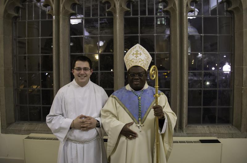Diocesan seminarian Benjamin Schrantz instituted as acolyte