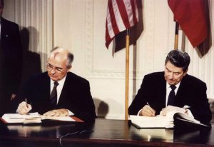 page 5 wire pic 20190207T1204 24332 CNS WASHINGTON LETTER NUCLEAR TREATY 300x206 - REGAN GORBACHEV 1987 INF SIGNING