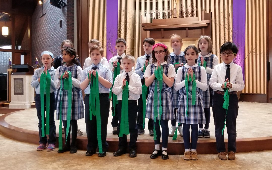 St. Patrick & St. Joseph celebrations at Immaculate Conception School
