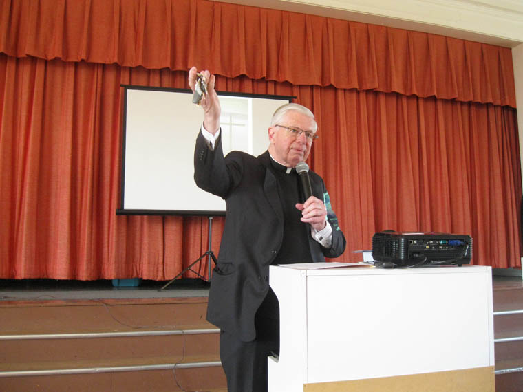 Monsignor holds the key to moving past the grudges