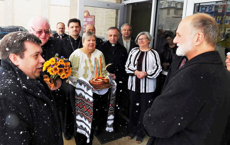 Syracuse native welcomed as new Ukrainian Catholic metropolitan-archbishop