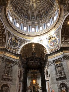 st peter 1 IMG 2616 225x300 - Footsteps of Faith: Pilgrimage to Italy