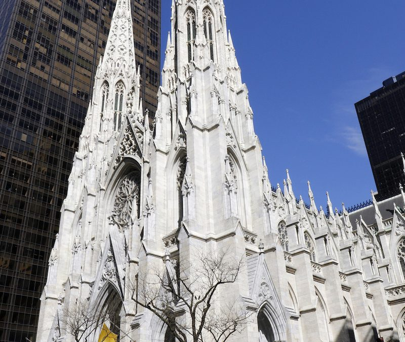 Man faces charges for trying to walk into cathedral with flammables