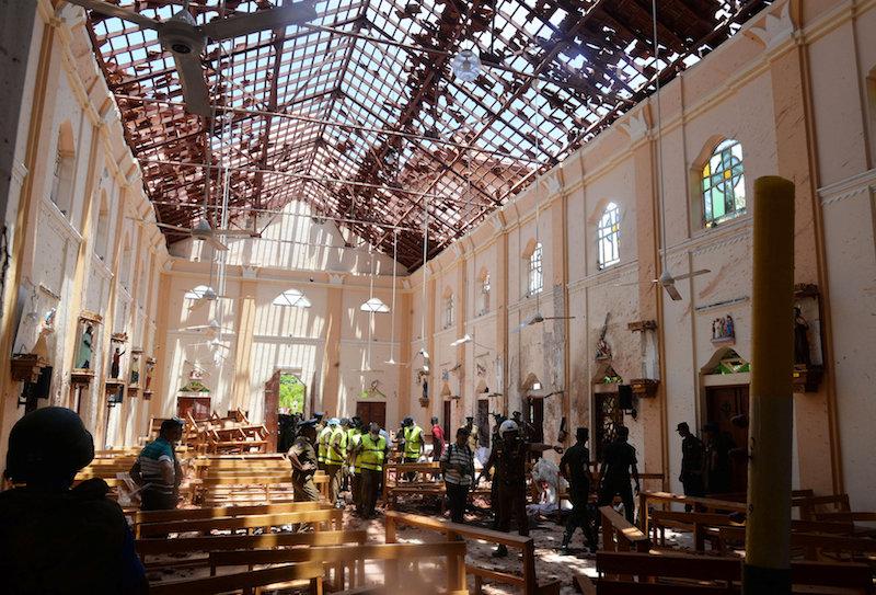 USCCB president decries terrorist bombings of Sri Lanka churches, hotels