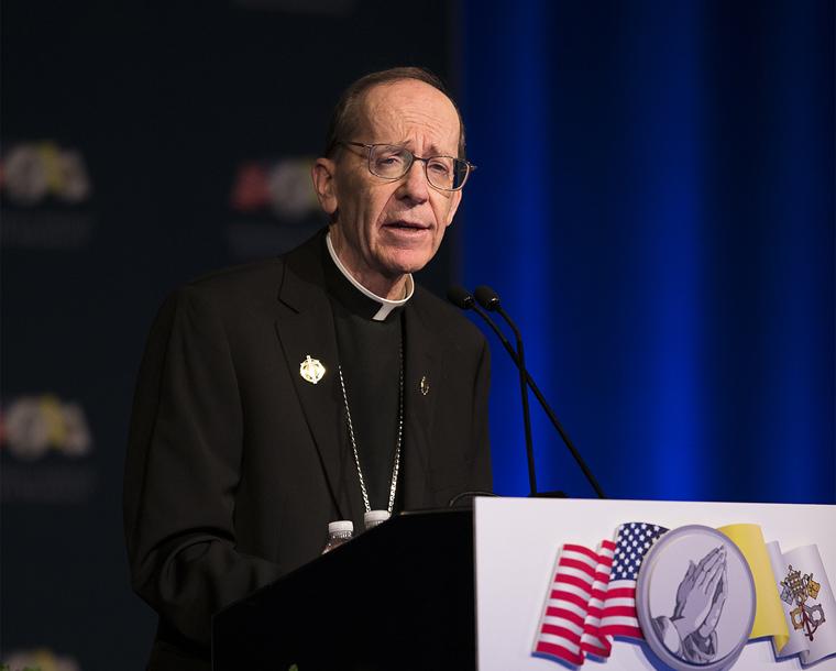 Bishop says 'love of Christ' compels him to proclaim Gospel of life