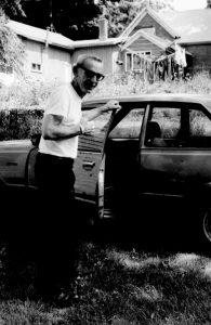 Father McVey with car 195x300 - Father McVey with car