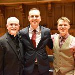 organ trio 150x150 - Teen lauded for dedicatory  organ recital in Utica
