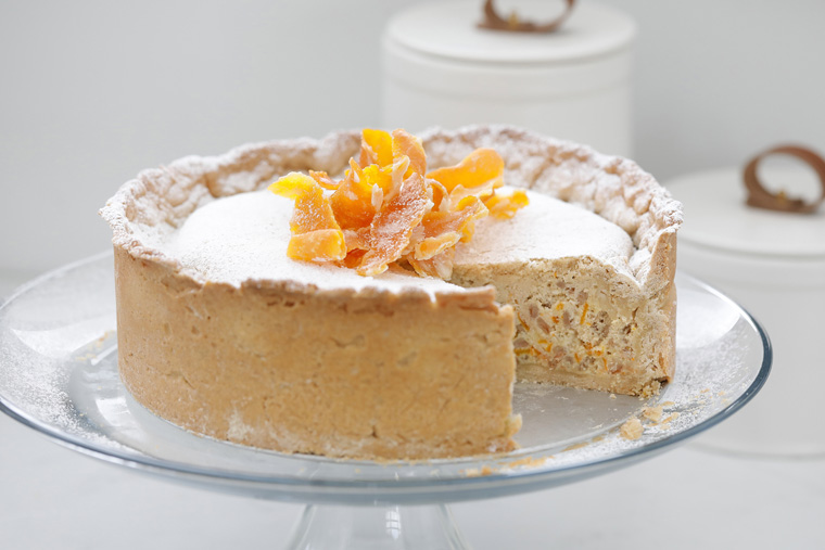 Easter recipe: Sweet Easter pie with ancient farro