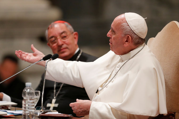 Pope: Without Holy Spirit, dioceses can become worldly businesses
