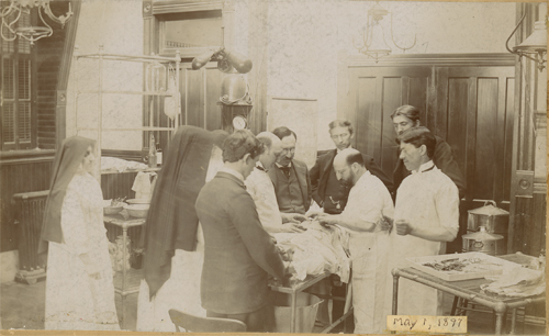 CA.2  StJosephH OR 1897a - 150 years of dignity and care: A look back at the founding of St. Joseph's Hospital