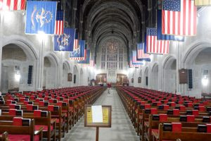 Cadet Chapel 300x200 - 'Dominic-lovers' hear teen organist play at West Point
