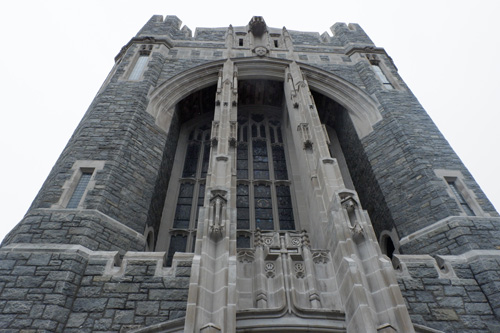 Cadet Chapel exterior - 'Dominic-lovers' hear teen organist play at West Point