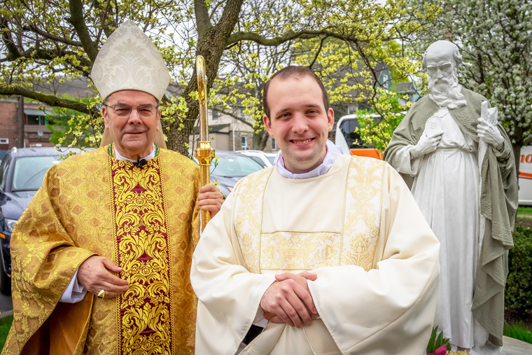 'He's going to be a wonderful priest': Malachi Francis Clark is ordained as a transitional deacon
