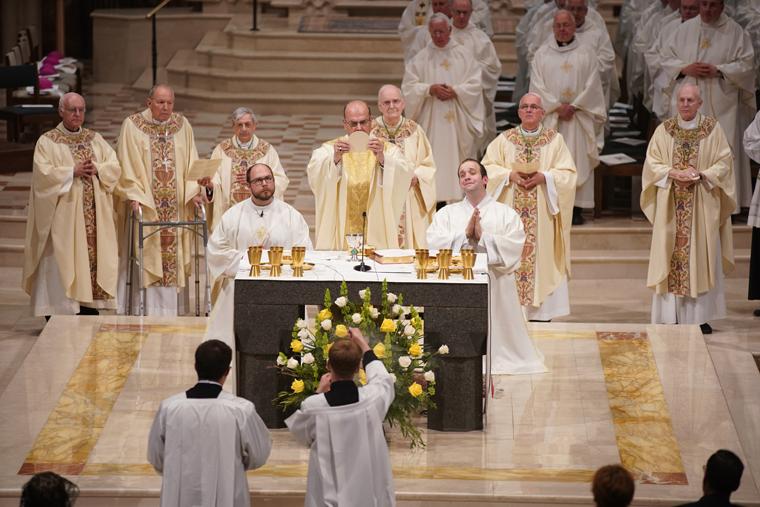 Celebrating Bishop Cunningham's golden jubilee