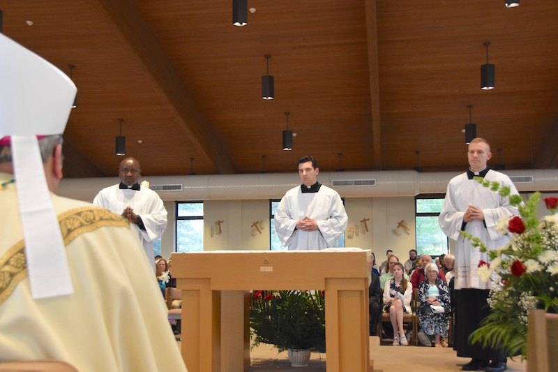 DSC 0336 - Three seminarians accepted as worthy candidates for priesthood