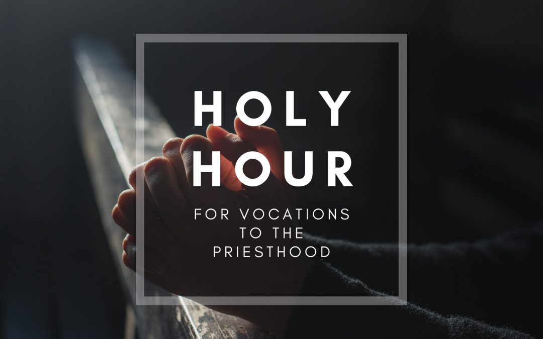 Diocesan seminarians to lead Holy Hour for Vocations