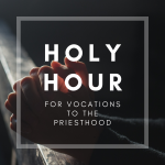 HOLY HOUR FB event 150x150 - 'Your vocation is the deepest revelation of who you are': World Day of Prayer for Vocations celebrated with holy hour