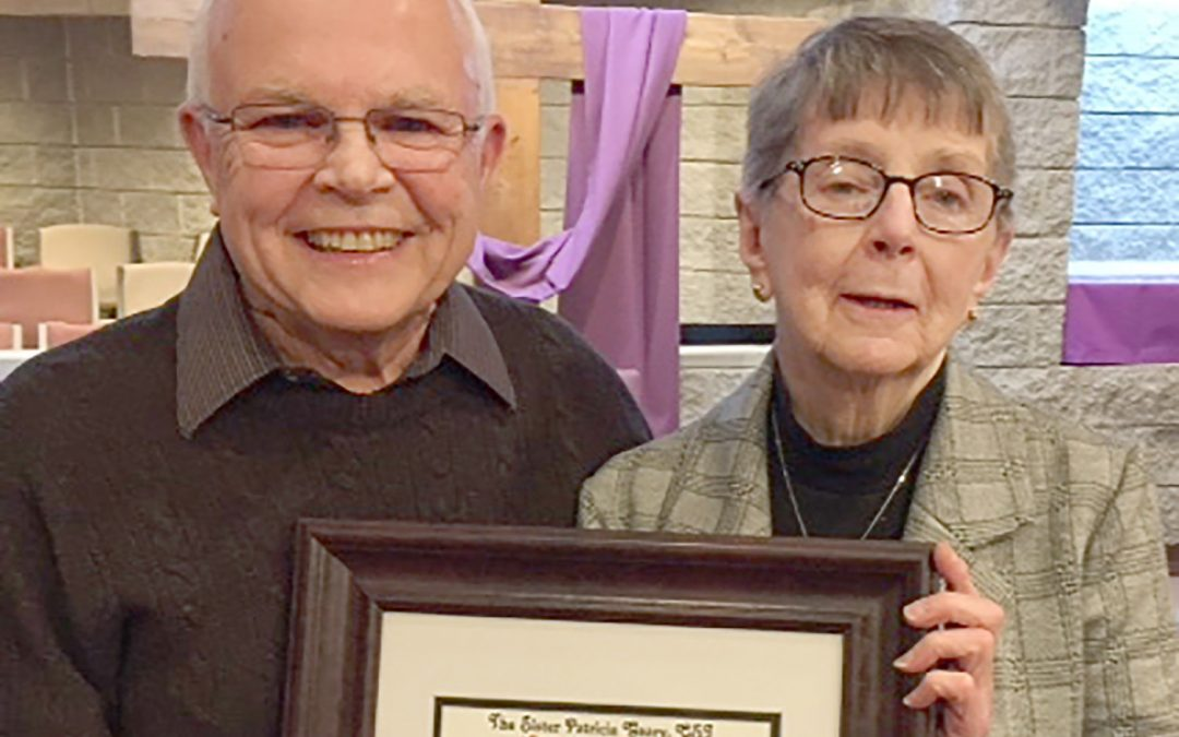 Paul DeFelice wins Sister Geary Award at Baldwinsville parish