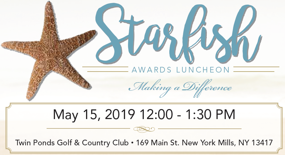 Catholic Charities Oneida/Madison County to honor local leaders at Starfish Awards Luncheon
