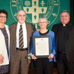 Zigo Diane award photo 150x150 - Paul DeFelice wins Sister Geary Award at Baldwinsville parish