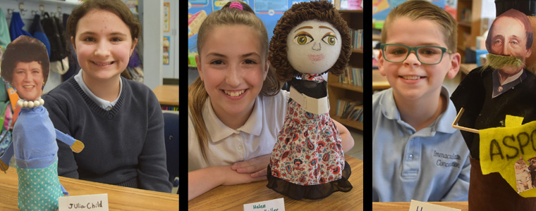 IC pupils construct BioBottles representing historical figures