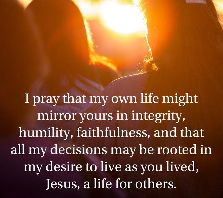 Prayer for discernment