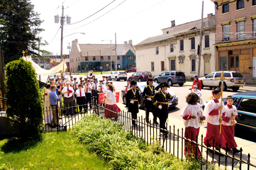 Utica procession